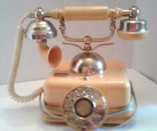 Collectible Rotary Dial Desk Telephone  Victorian French Style Phone Vintage