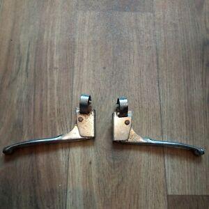 Vintage Chrome Brake Levers