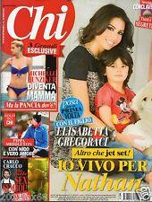 Chi CHI n.12 michelle hunziker pippa middleton carlo cracco italian magazine