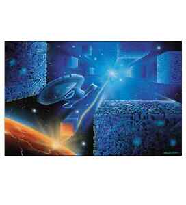 Star Trek Voyager - Sting of the Scorpion Lithograph