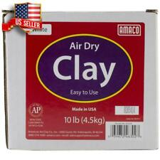 10 POUNDS AIR DRY MODELING CLAY DIY HOME SCHOOL USE SCULPTING MOLDING POTTERY