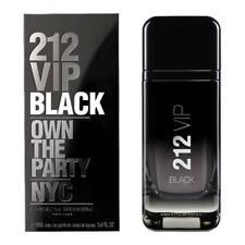 212 VIP Black 3.4 oz. (100ml) Eau de Parfum for Men 100% Authentic Sealed Box