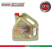 OLIO MOTORE CASTROL EDGE FST 5W-30 4 litri (4 lt.) VW