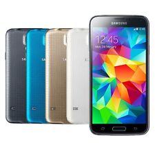 Samsung Galaxy S5 SM-G900F - 16GB - Weiß Schwarz Gold Blau - Android - NEU