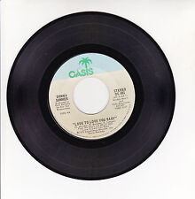 """Donna SUMMER Vinyl 45T 7"""" LOVE TO LOVE YOU BABY - OASIS 401 F Rèduit RARE"""
