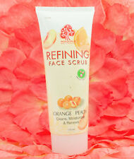 Madina Refining Face Scrub Orange Peach w/ fruit extract & Vitamin E 175ml.
