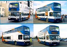4 Bus Photos ~ Stagecoach: Cheltenham Gold Cup Shuttle: Volvo Olympians - 2014