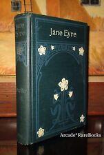 Bronte, Charlotte ~JANE EYRE~ Antique Victorian Fine Binding
