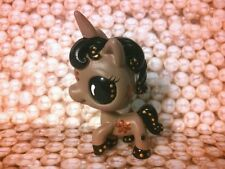 Unicorn Horse Steam Punk Gears * OOAK Hand Painted Custom Littlest Pet Shop