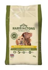 Harrington's Dog Food Complete Turkey And Vegetables Dry Mix 15Kg Pet Natural