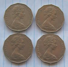 1969, 1971, 1972 and 1973 50 cent – Circulated
