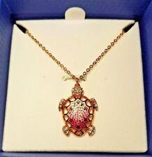 NEW IN BOX Swarovski Turtle Crystal Necklace 5186442 Necklace