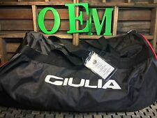 **BRAND NEW** ALFA ROMEO GIULIA QUADRIFOFLIO INDOOR CAR COVER (BLACK) ((OEM) NEW