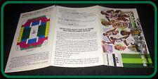 1980-81 MILWAUKEE BUCKS MASTERCARD VISA BASKETBALL POCKET SCHEDULE FREE SHIP