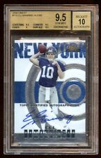 BGS 9.5 *10* AUTO ELI MANNING 2004 FINEST RC AUTO /399 ON CARD AUTO BASE RC HOT
