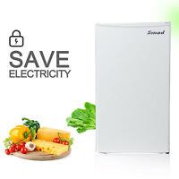 3.3 Cu Ft Single Door Mini Refrigerator Small Fridge Compact Kitchen Freezer