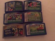 Lot of 6 LeapFrog Leapster  Learning Games for System