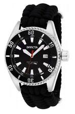 Invicta Homme Pro Diver Automatique Bracelet en Nylon noir