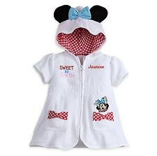 Disney Minnie Mouse Swim Cover-Up for Girls White 18-24 Mos