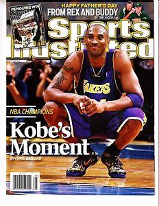 Kobe Bryant Los Angeles Lakers 2009 Sports Illustrated No Label Black Mamba