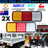 150 LEDS TAIL LIGHT TRUCK UTE TRAILER STOP INDICATOR LIGHTS 12V/24V WATERPROOF