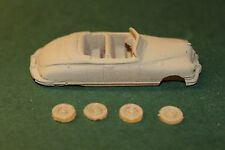 HO SCALE AUTO 1949 PACKARD CUSTOM 8 CONVERTIBLE RESIN