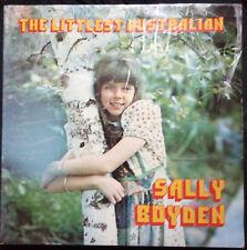 SALLY BOYDEN THE LITTLEST AUSTRALIAN VINYL LP AUSTRALIA