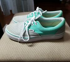 VANS Women's Two Tone Turquoise  Gray  Size 7.5 Sneakers