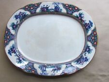 "BOOTHS MING PATTERN 13½"" OVAL SERVING PLATTER (Ref2977)"