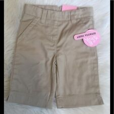 New Izod khaki Bermuda Shorts 6 slim Approved School Wear