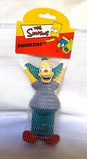 THE SIMPSONS KRUSTY THE CLOWN SQUEEZIES TOY STRESS RELIEF 2000 Collectable