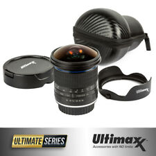 ULTIMAXX 7mm f/3.0 Aspherical Fisheye Lens for Canon DSLRs - Ultra Wide Angle