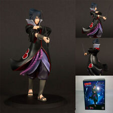 HOT Anime Naruto Sasuke 7'' Deluxe Collectible Action Figure PVC Model Anime Toy