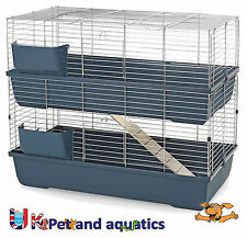 Rabbit Double Indoor Cage With Ladder 100cm