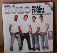 BLUE - ONLY WORDS I KNOW - cd singolo cardsleave - PROMO 2005