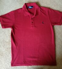 mens Ralph Lauren red polo top Size M NEW
