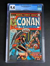 Conan the Barbarian #23 CGC 9.4 OW/W Pages 1st Appearance of Red Sonja