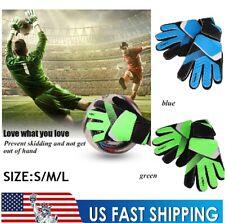 Kids Child Youth Football Soccer Goalkeeper Gloves Goalie Glove Hands Protector