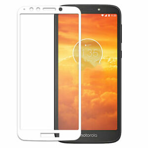 For Motorola MOTO E5 Play go Full Covered Tempered Glass Screen Protector Lot