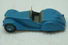 VINTAGE DINKY TOYS CAR FRAZER NASH 38A CONVERTIBLE BLUE PLASTIC WINDSHIELD