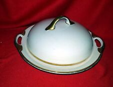 J&C Bavaria - Jaeger & Co - Roman Bavaria China - Round Butter Dish with Lid