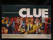 Clue - Parker Brothers Classic Detective Game 2002 Complete See Pics For Items