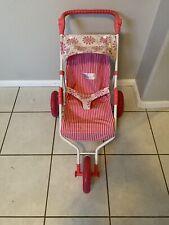American Girl Bitty Baby Foldable Jogging Stroller