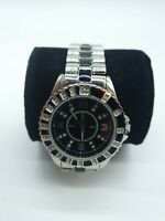 Mens Pristine NEXT Dress Watch with black and diamond like dials and strap