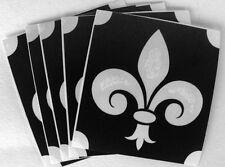 bm810 GLITTERTATTOO 5x stencil fleur de lis french lily glitter tattoo neat L@@K
