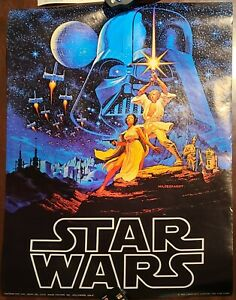 Star Wars Original Vintage Movie Poster Hildebrandt 1977 Factors