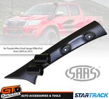 SAAS Dual Gauge Pillar Pod for Toyota Hilux SR5 SR 2005-2015 52mm Gauges EXPRESS