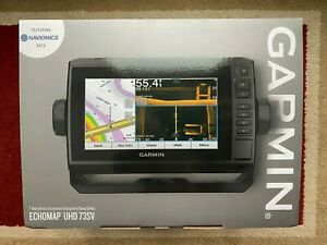 Garmin 010-02338-00 ECHOMAP UHD 73sv Chartplotter/Fishfinder no transducer - NEW