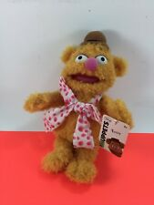 "New w/ Tags 11"" Disney Just Play Muppets Fozzie The Bear Plush & Pellets Furry"