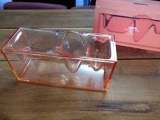 Lexon Dreamtools Liquidstation Designer Desk Organiser in orange